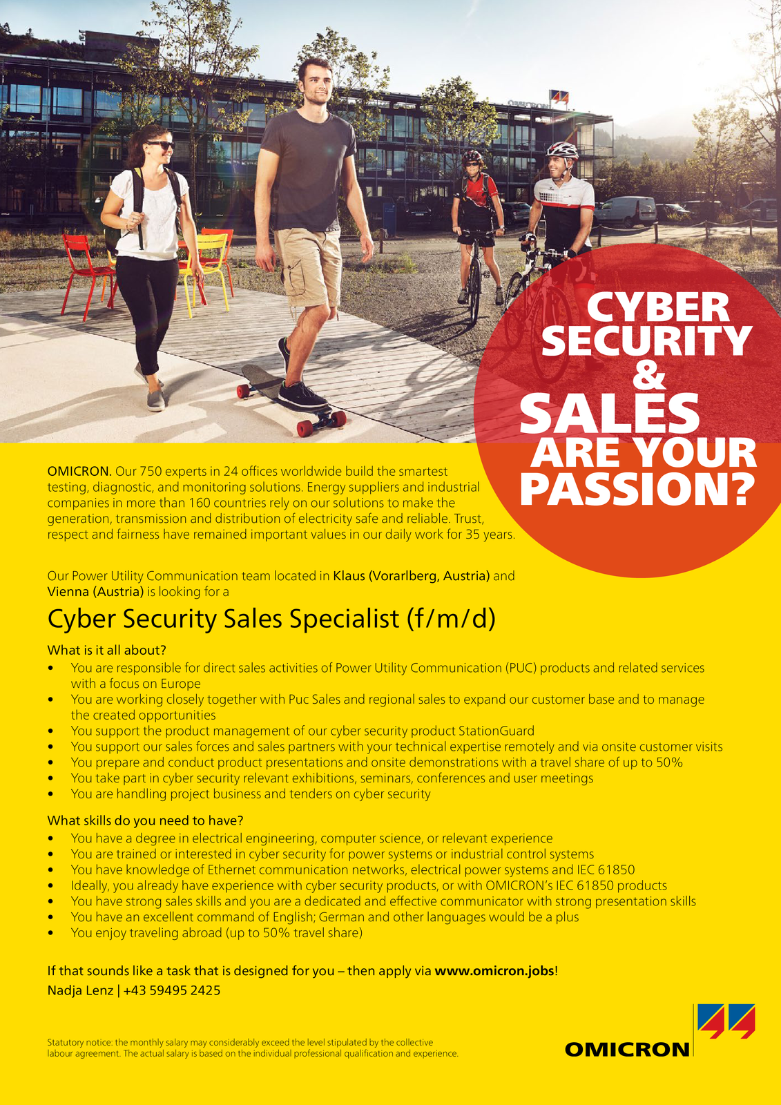 Cyber Security Sales Specialist (f/m/d)