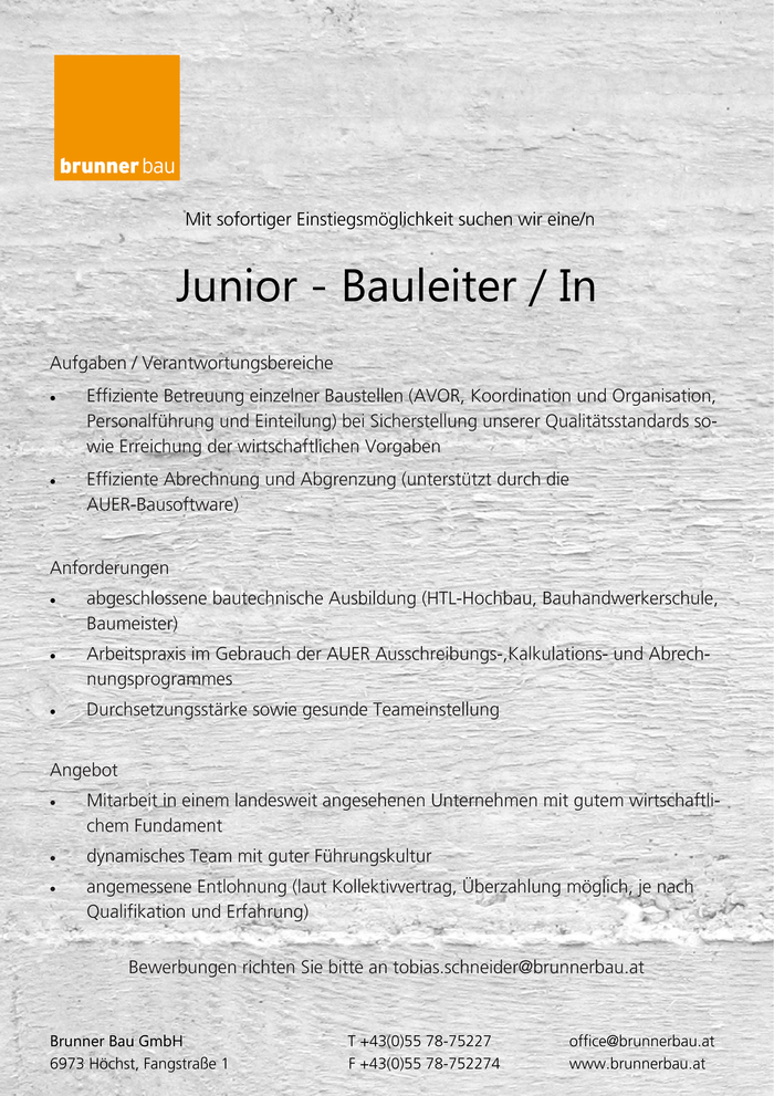 junior-bauleiterin
