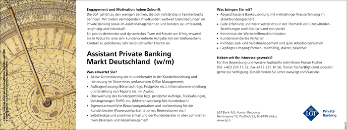 Assistant Private Banking