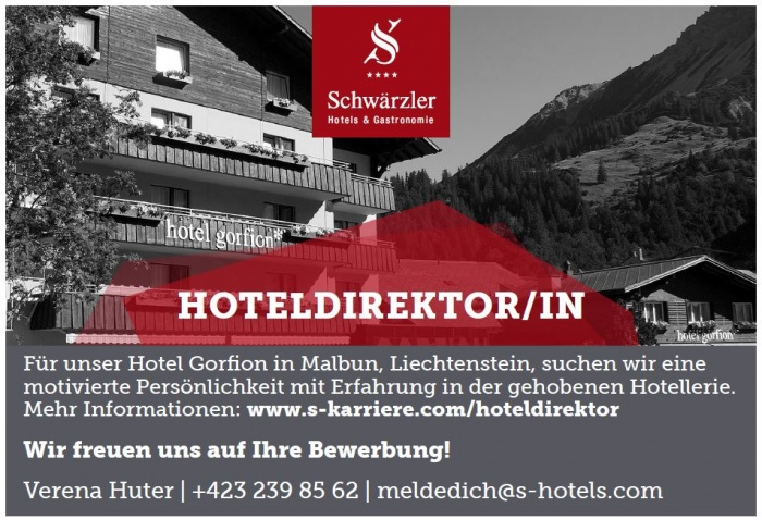 Hoteldirektor/in