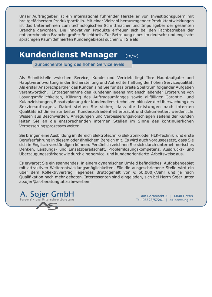 kundendienst-manager