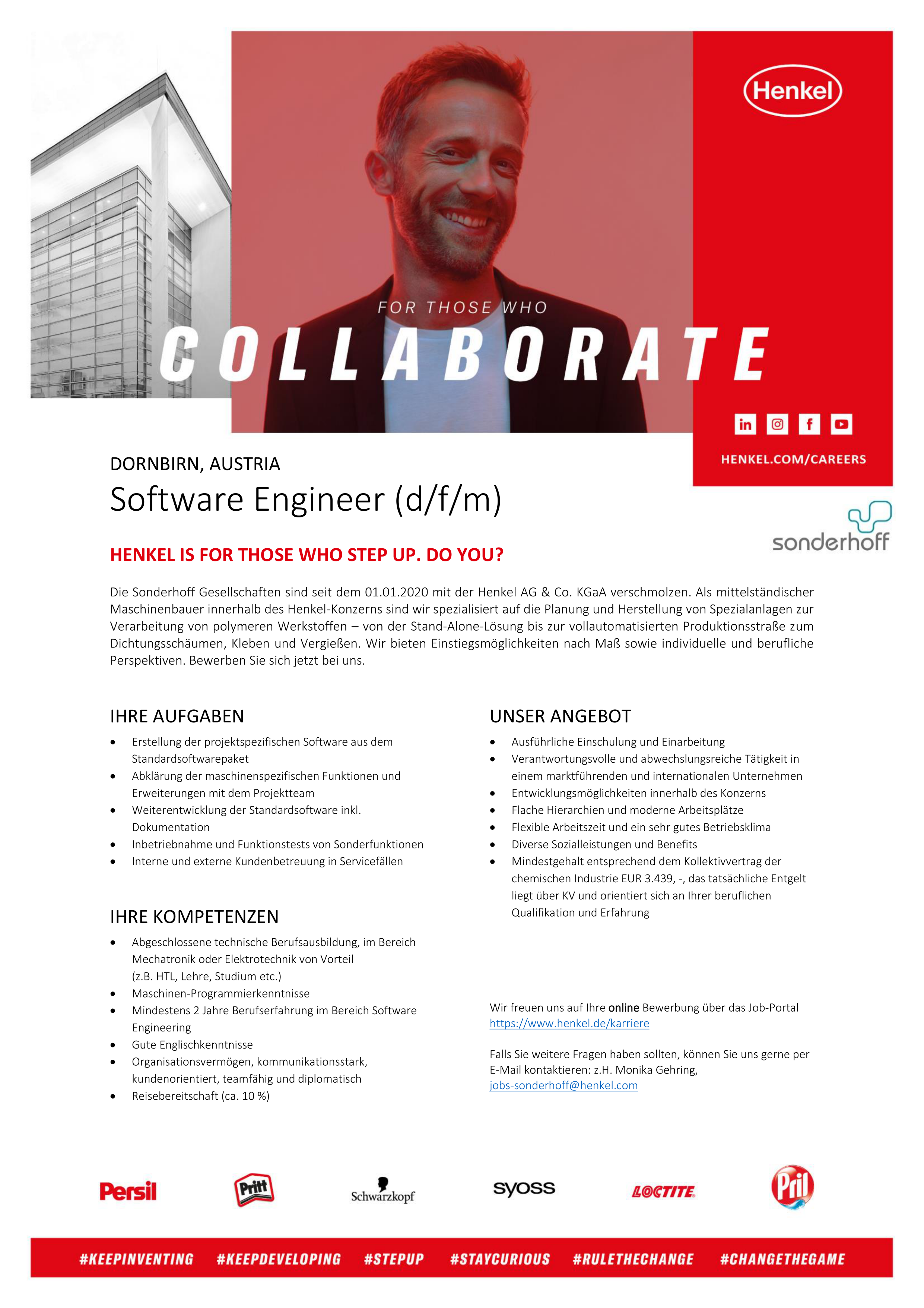 Software Engineer (d/f/m)