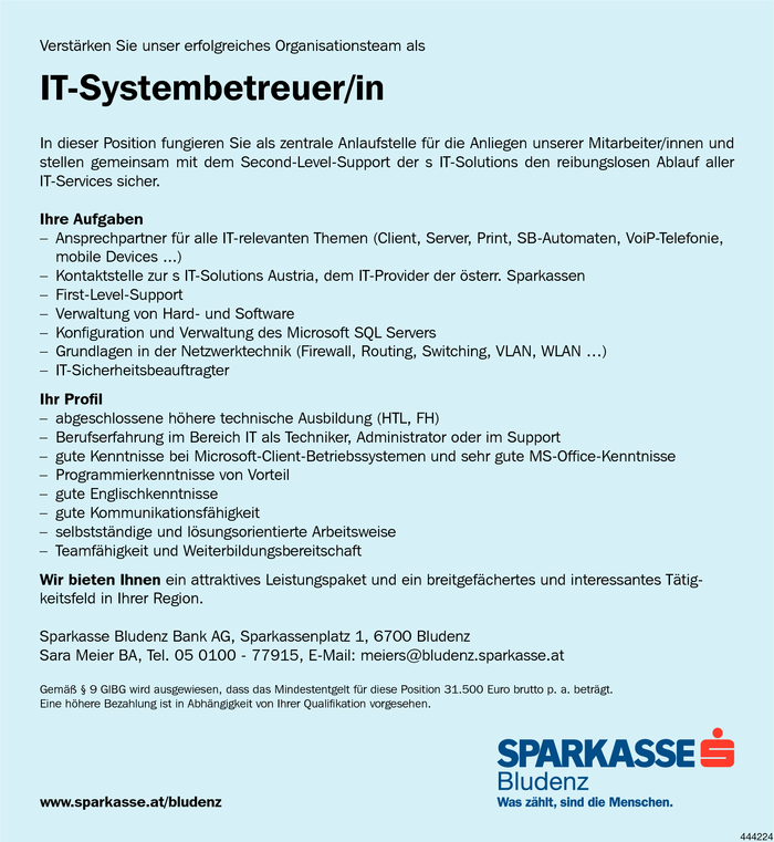 it-systembetreuerin