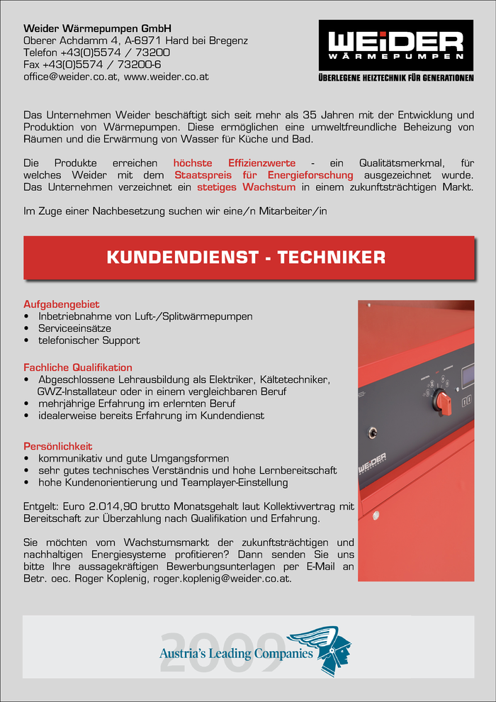 kundendienst-techniker