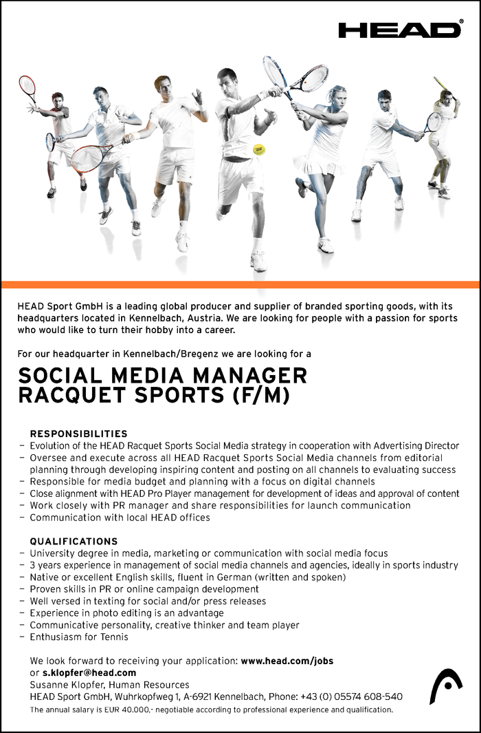 social-media-manager-racquet-sports-fm