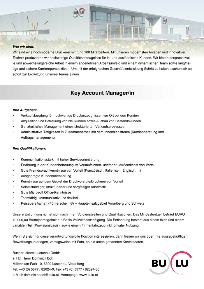 key-account-managerin