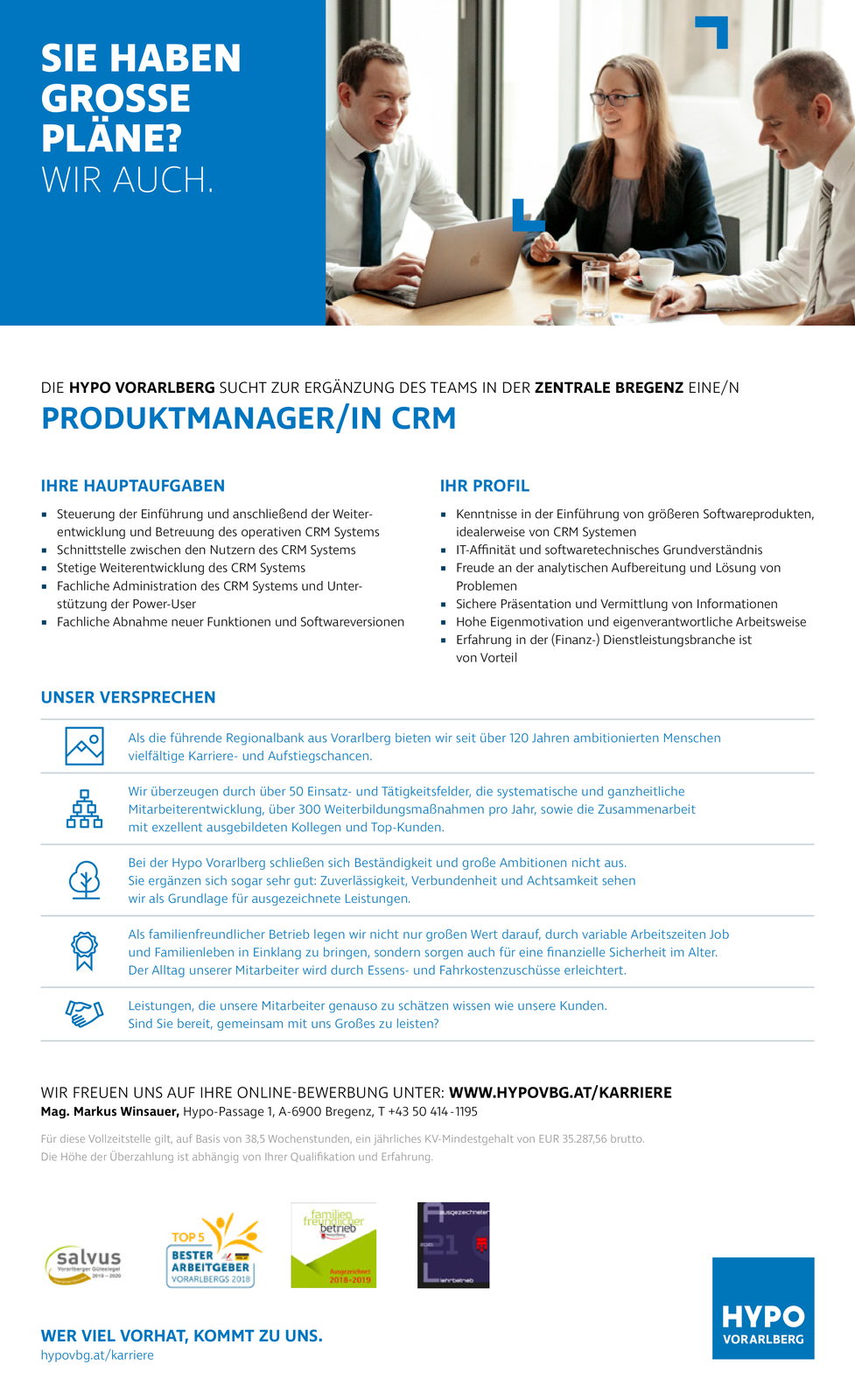 PRODUKTMANAGER/IN CRM