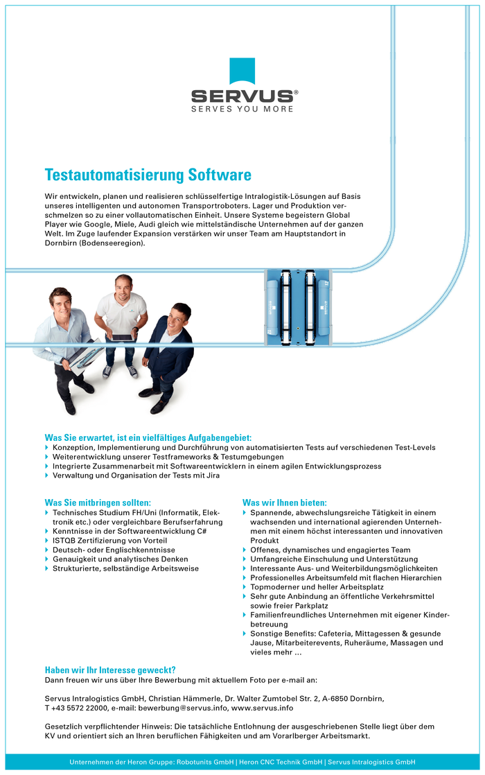 Testautomatisierung Software
