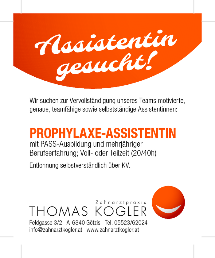 Prophylaxeassistentin