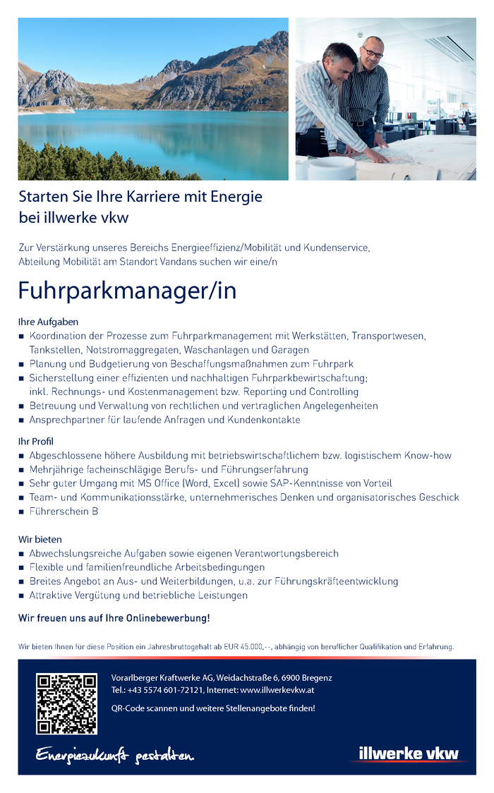 Fuhrparkmanager/in