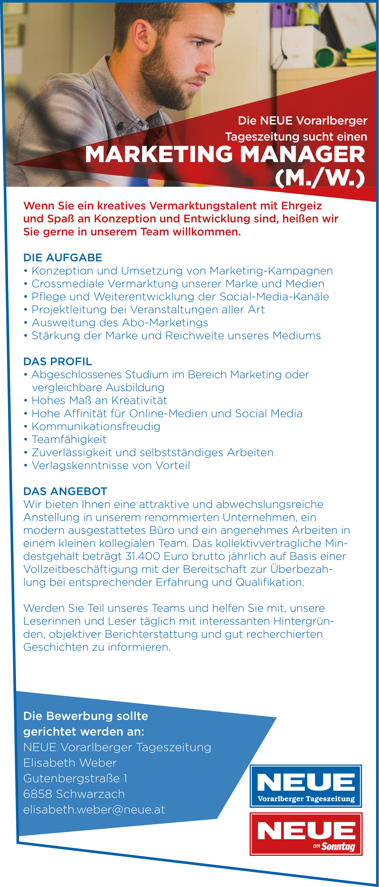 Marketing Manager m./w.