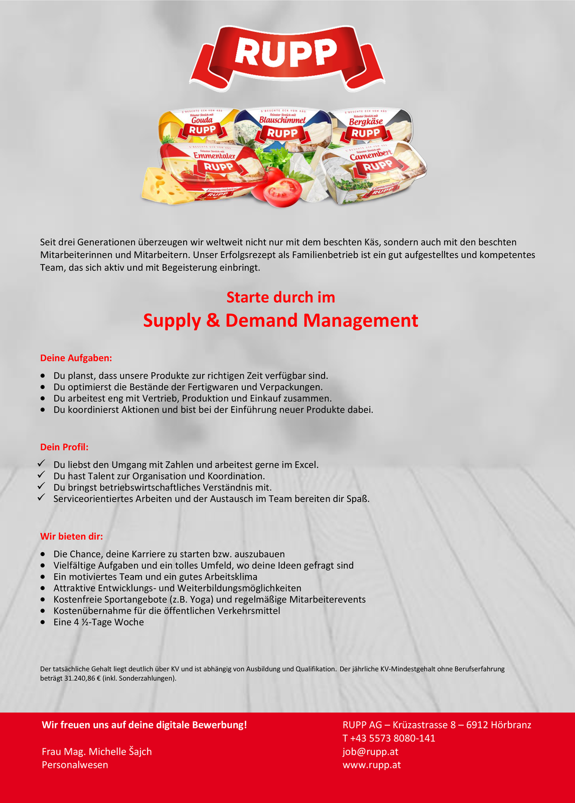 Supply & Demand Management (m/w)