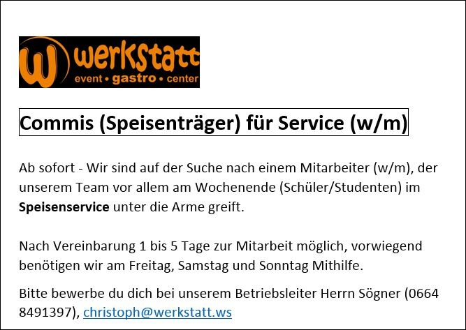 commis-service-tellertrager