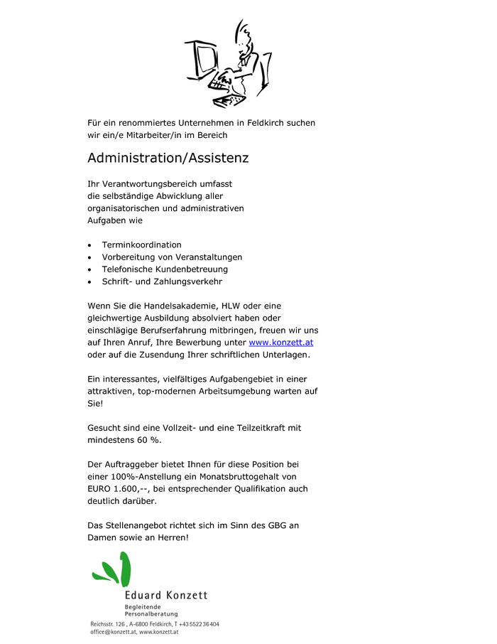 Administration/Assistenz