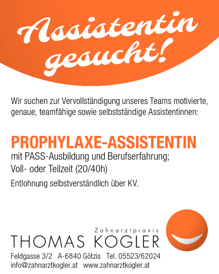prophylaxe-assistentin