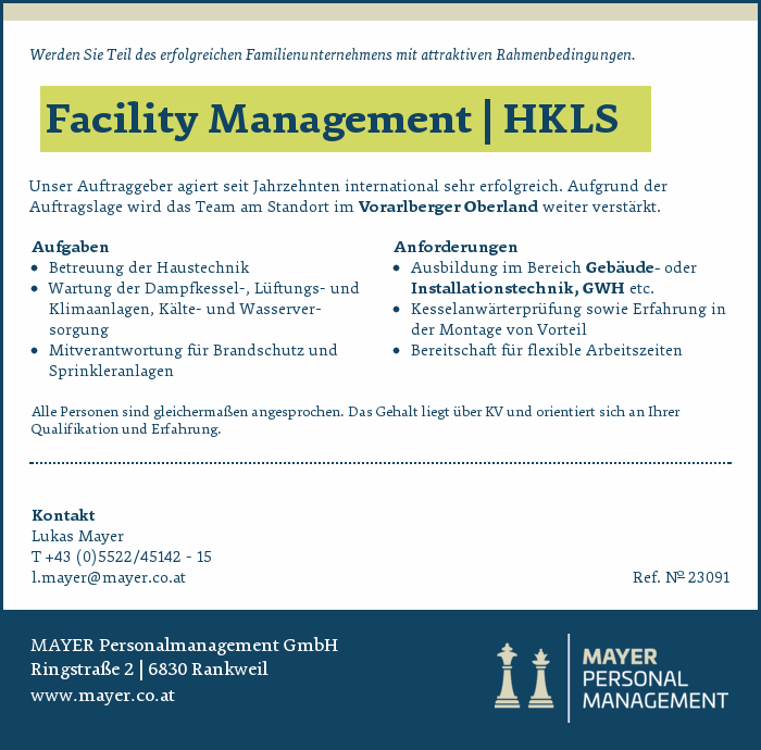 Facility Management | HKLS
