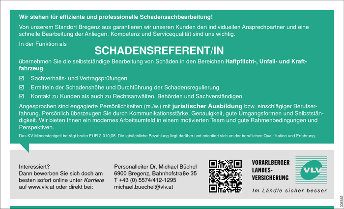 Schadensreferent/in