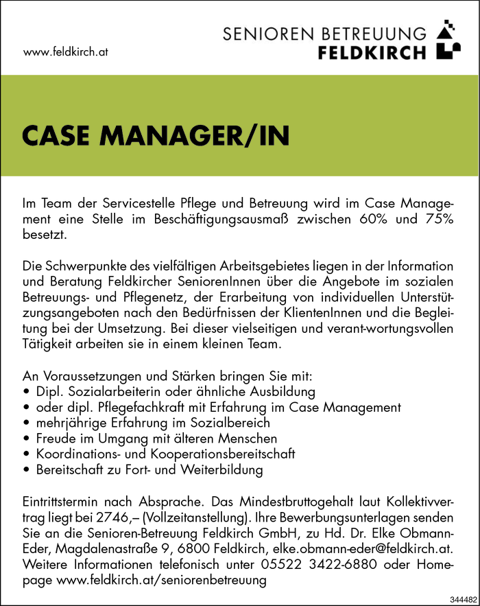 Case Manager/in