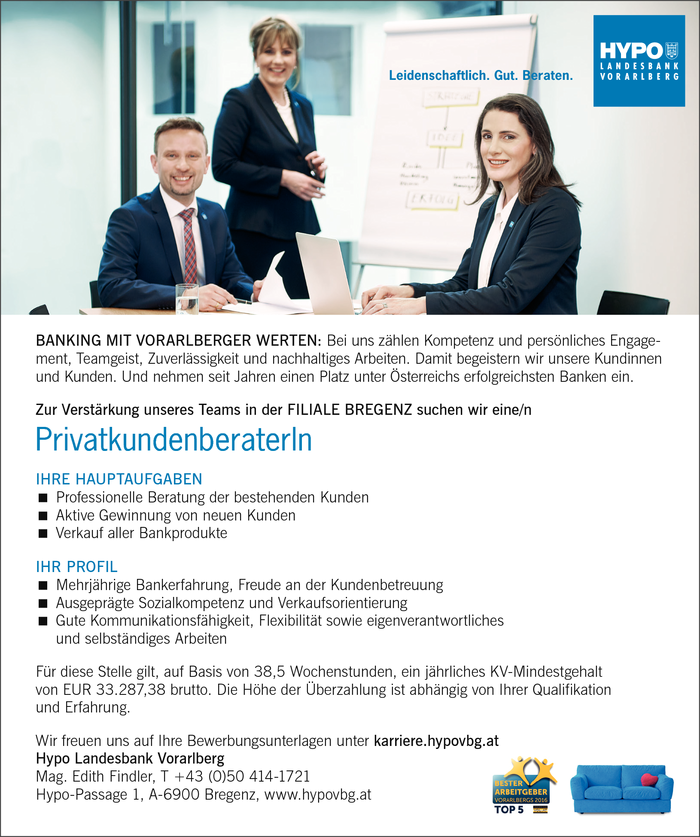 PrivatkundenberaterIn