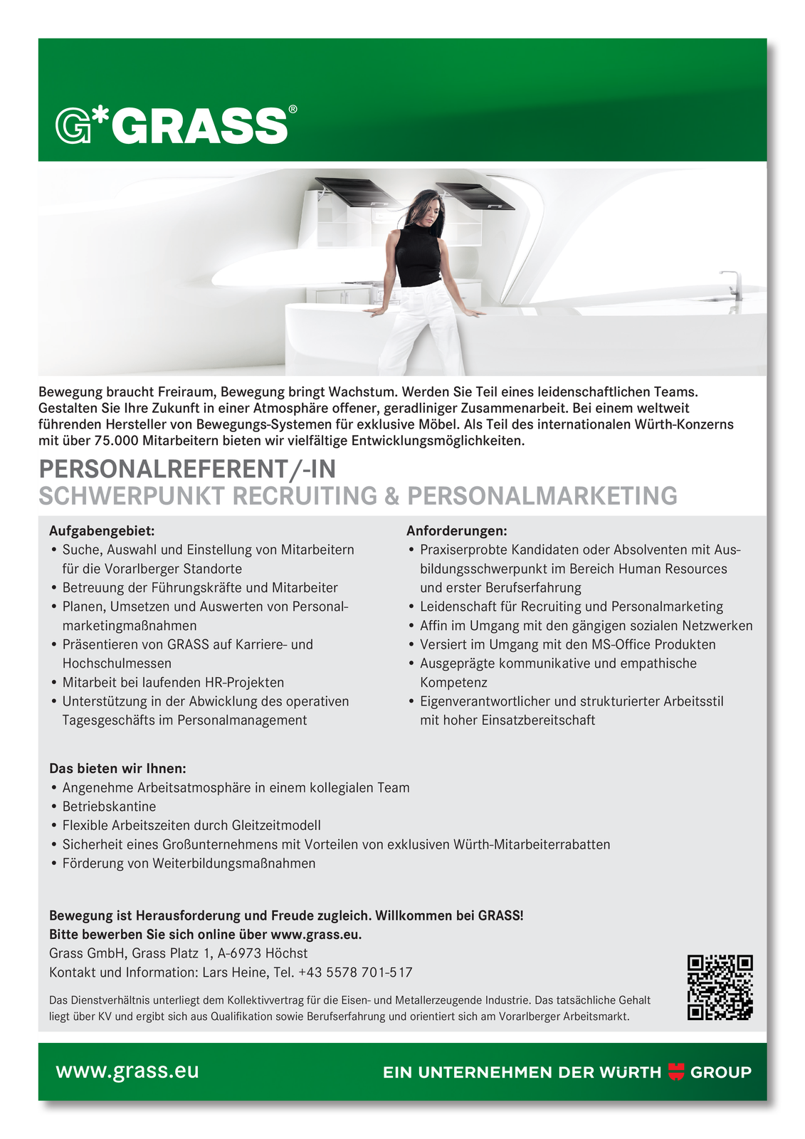 Personalreferent/-in Schwerpunkt Recruiting & Personalmarketing