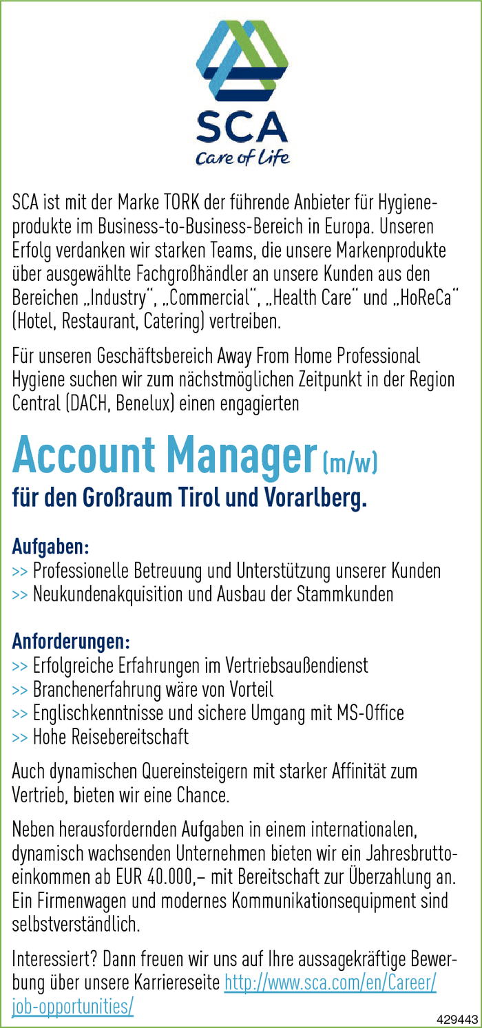 Account Manager/in