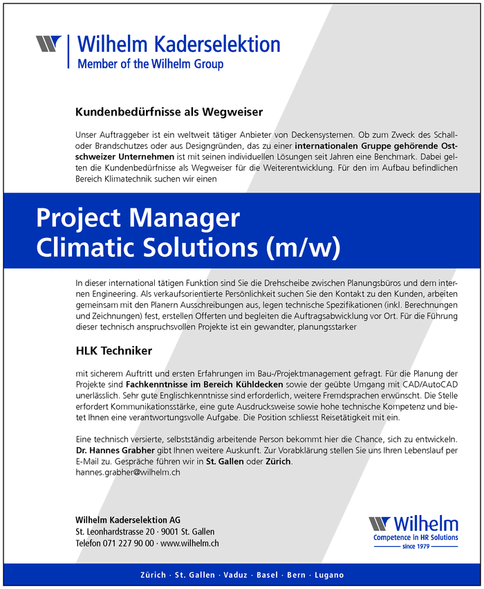 project-manager-climatic-solutions-mw