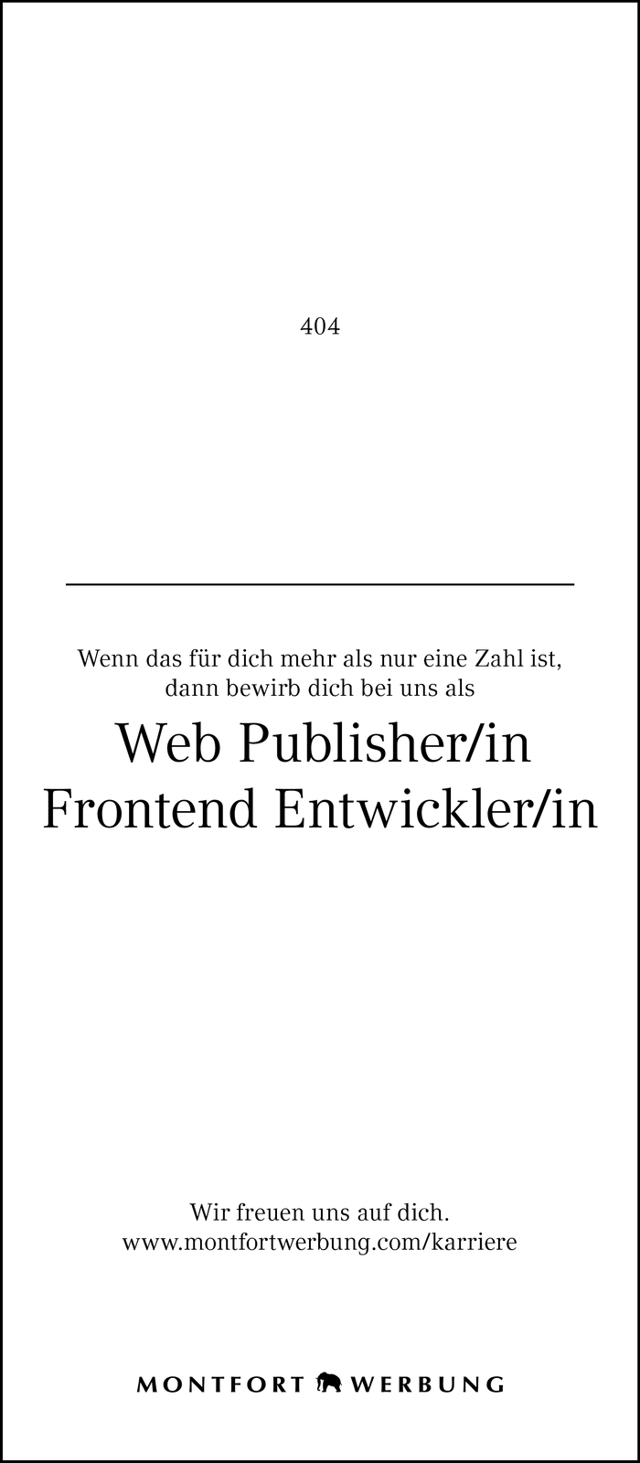 Web Publisher/in | Frontend Entwickler/in