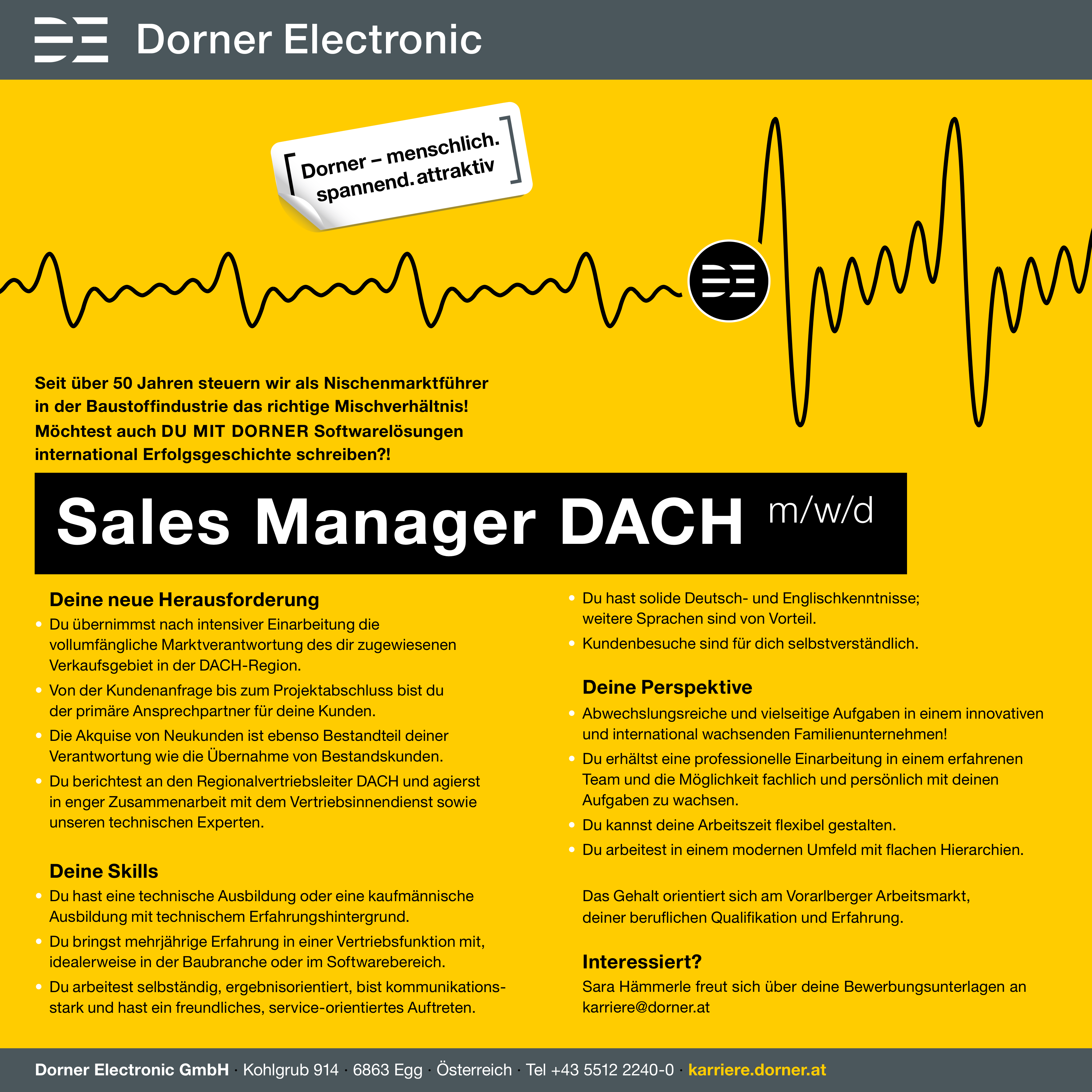 Sales Manager DACH (m/w/d)