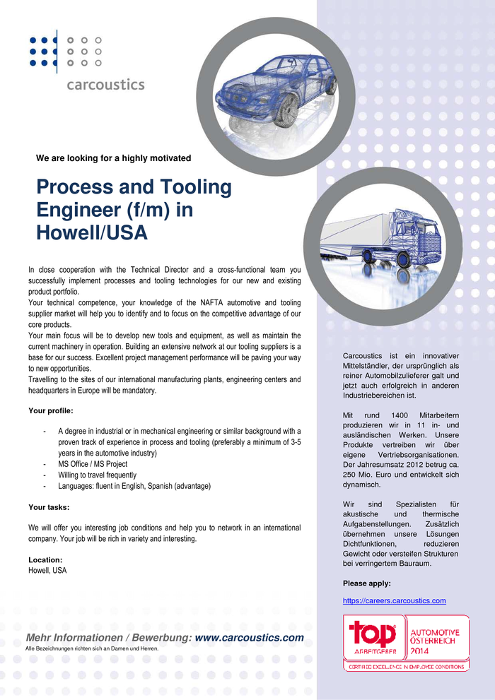 process-and-tooling-engineer-howell-usa